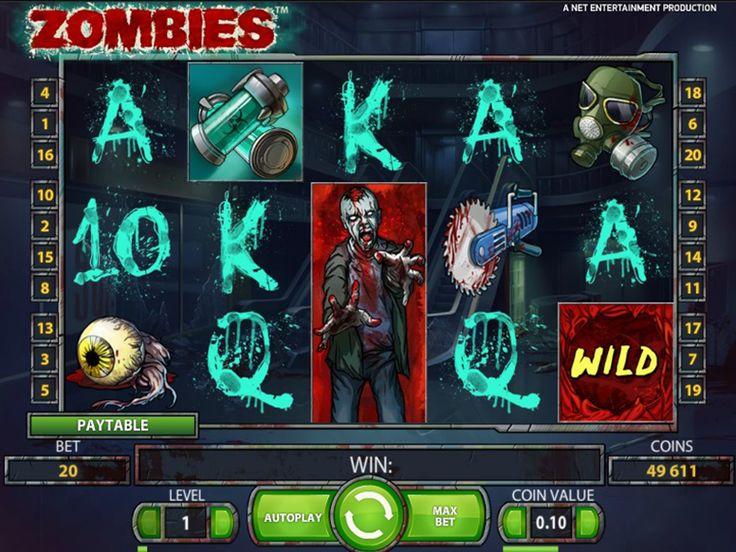 игровой слот Zombies